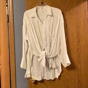 Over sized flowy tunic shirt